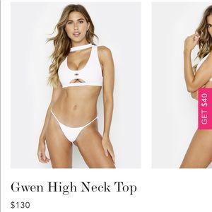Beach Bunny Swim - Gwen high neck top & Sydney tango bottoms